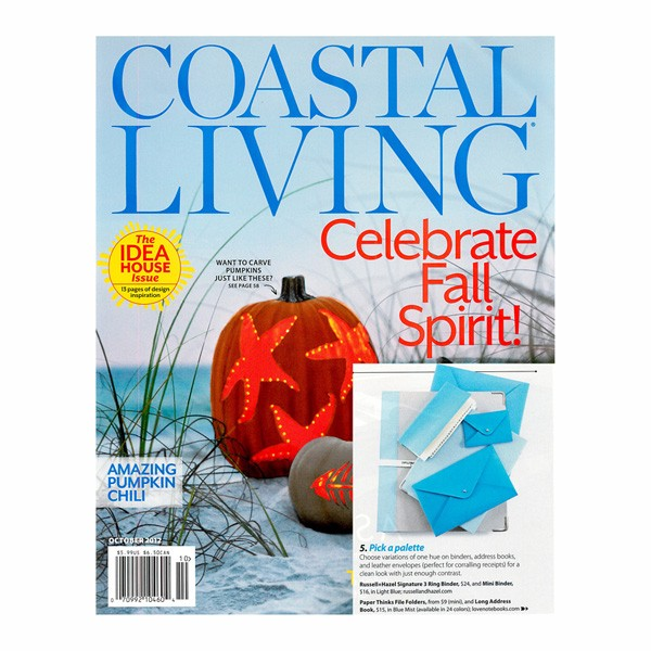 Coastal Living featuring Paperthinks